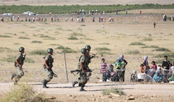 Rojava'dan Sınırlara İnsan Seli 15