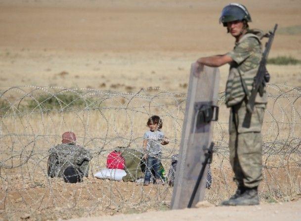 Rojava'dan Sınırlara İnsan Seli 16
