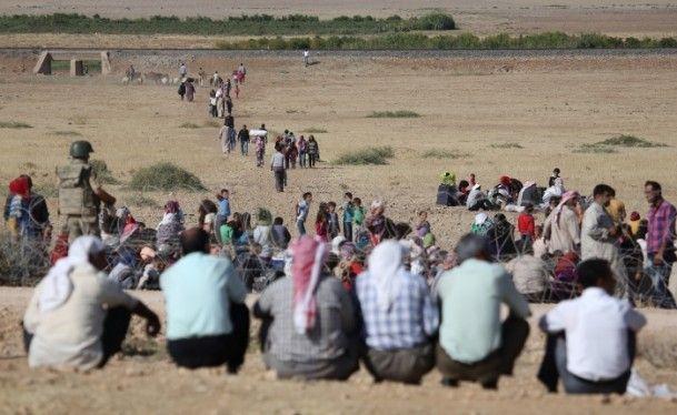 Rojava'dan Sınırlara İnsan Seli 17