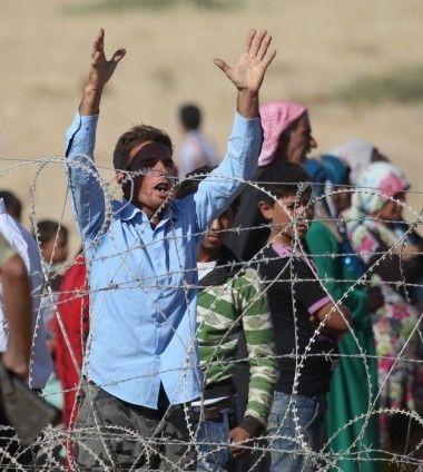 Rojava'dan Sınırlara İnsan Seli 19
