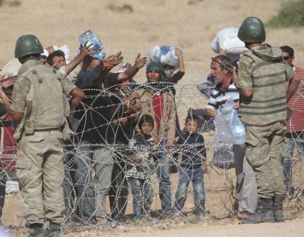 Rojava'dan Sınırlara İnsan Seli 2