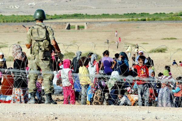 Rojava'dan Sınırlara İnsan Seli 20