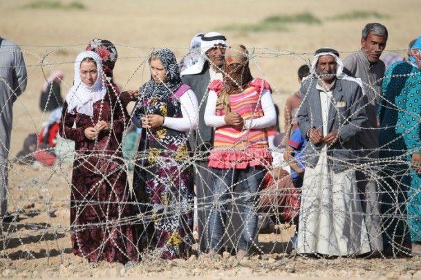 Rojava'dan Sınırlara İnsan Seli 22