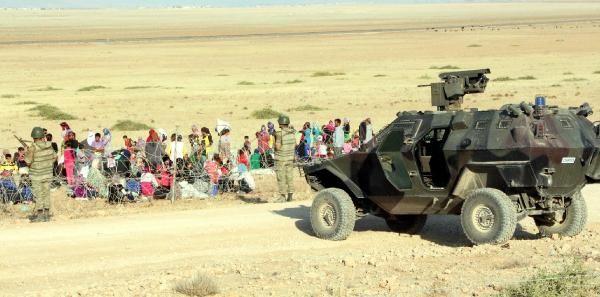 Rojava'dan Sınırlara İnsan Seli 23