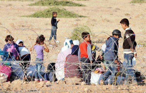 Rojava'dan Sınırlara İnsan Seli 24