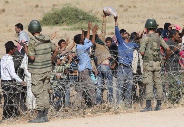 Rojava'dan Sınırlara İnsan Seli 26