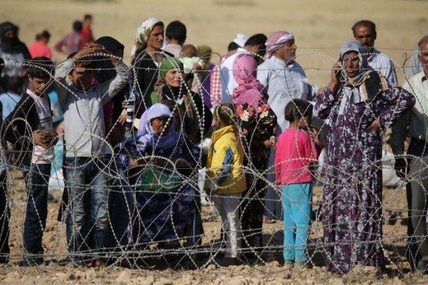Rojava'dan Sınırlara İnsan Seli 27