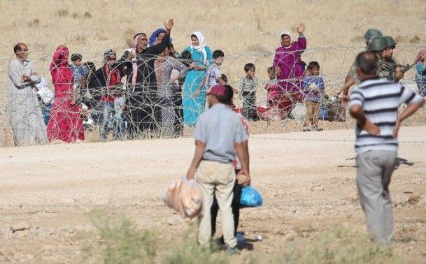 Rojava'dan Sınırlara İnsan Seli 28