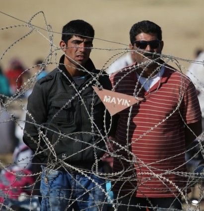 Rojava'dan Sınırlara İnsan Seli 29