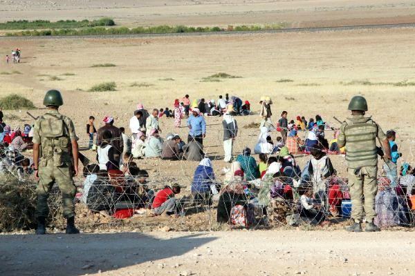 Rojava'dan Sınırlara İnsan Seli 3