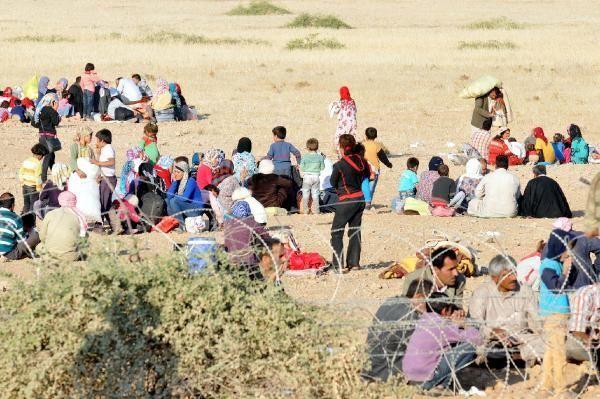 Rojava'dan Sınırlara İnsan Seli 30