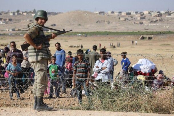 Rojava'dan Sınırlara İnsan Seli 31