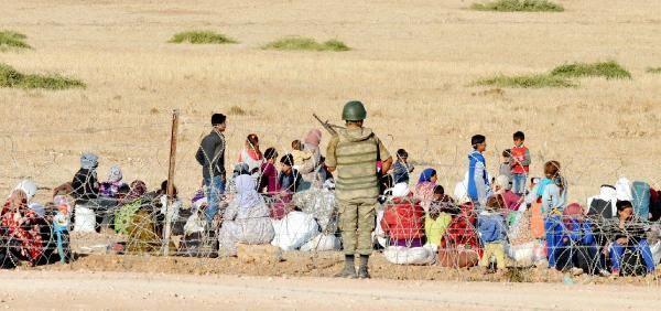 Rojava'dan Sınırlara İnsan Seli 32