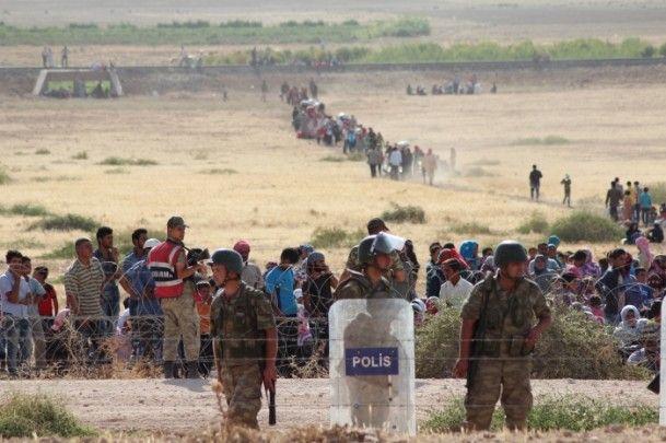 Rojava'dan Sınırlara İnsan Seli 34