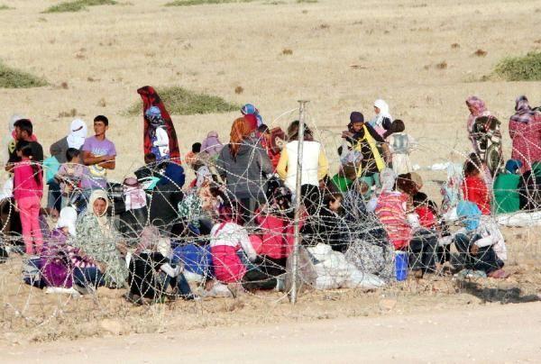 Rojava'dan Sınırlara İnsan Seli 4