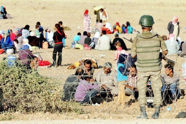 Rojava'dan Sınırlara İnsan Seli 6
