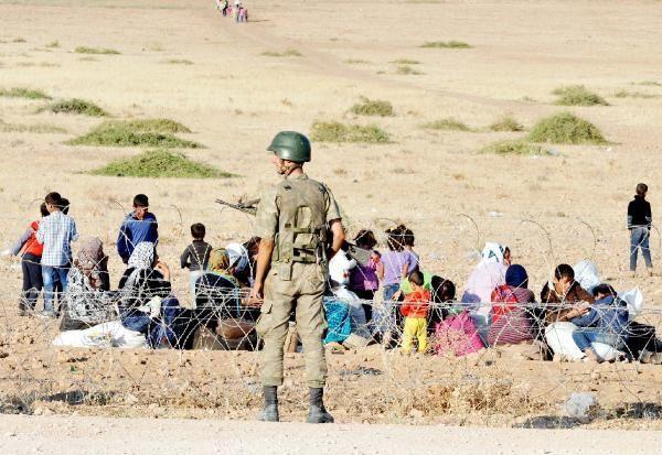 Rojava'dan Sınırlara İnsan Seli 7