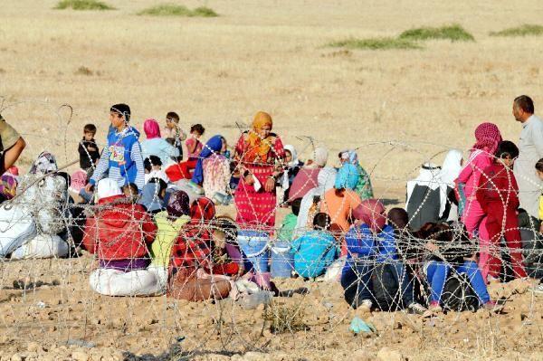 Rojava'dan Sınırlara İnsan Seli 8