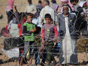 Rojava'dan Sınırlara İnsan Seli