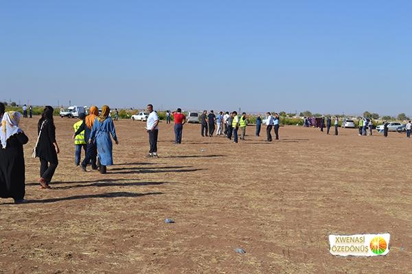 Öze Dönüş Platformu'nun Kobanili Muhacirlere Yardım Çalışması 101