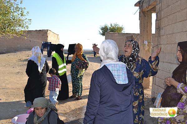 Öze Dönüş Platformu'nun Kobanili Muhacirlere Yardım Çalışması 103