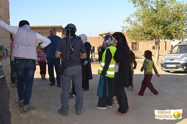 Öze Dönüş Platformu'nun Kobanili Muhacirlere Yardım Çalışması 104