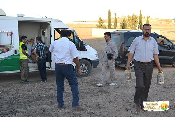 Öze Dönüş Platformu'nun Kobanili Muhacirlere Yardım Çalışması 105