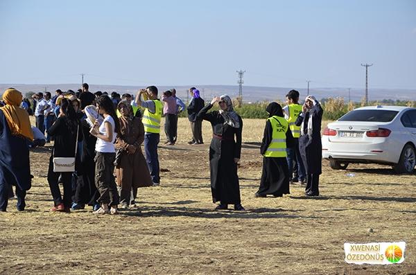 Öze Dönüş Platformu'nun Kobanili Muhacirlere Yardım Çalışması 107