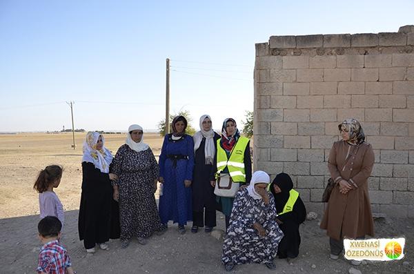 Öze Dönüş Platformu'nun Kobanili Muhacirlere Yardım Çalışması 108