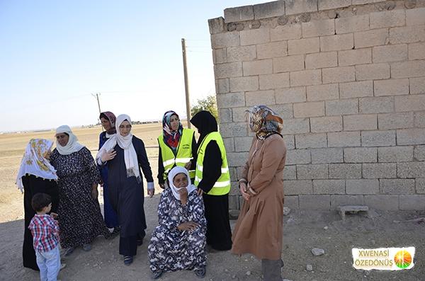 Öze Dönüş Platformu'nun Kobanili Muhacirlere Yardım Çalışması 109