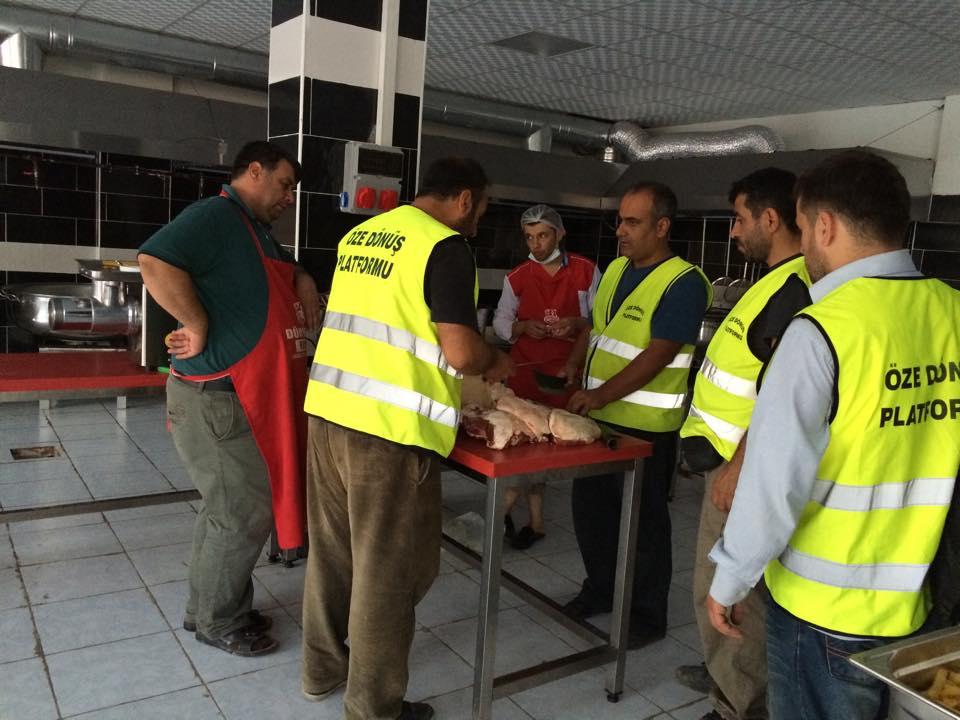 Öze Dönüş Platformu'nun Kobanili Muhacirlere Yardım Çalışması 21