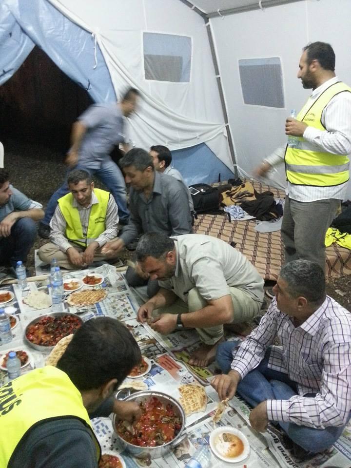 Öze Dönüş Platformu'nun Kobanili Muhacirlere Yardım Çalışması 23