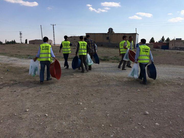 Öze Dönüş Platformu'nun Kobanili Muhacirlere Yardım Çalışması 28