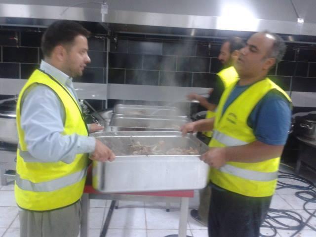 Öze Dönüş Platformu'nun Kobanili Muhacirlere Yardım Çalışması 3