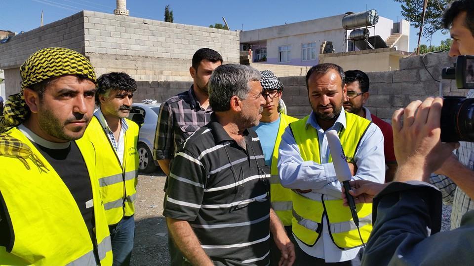 Öze Dönüş Platformu'nun Kobanili Muhacirlere Yardım Çalışması 33