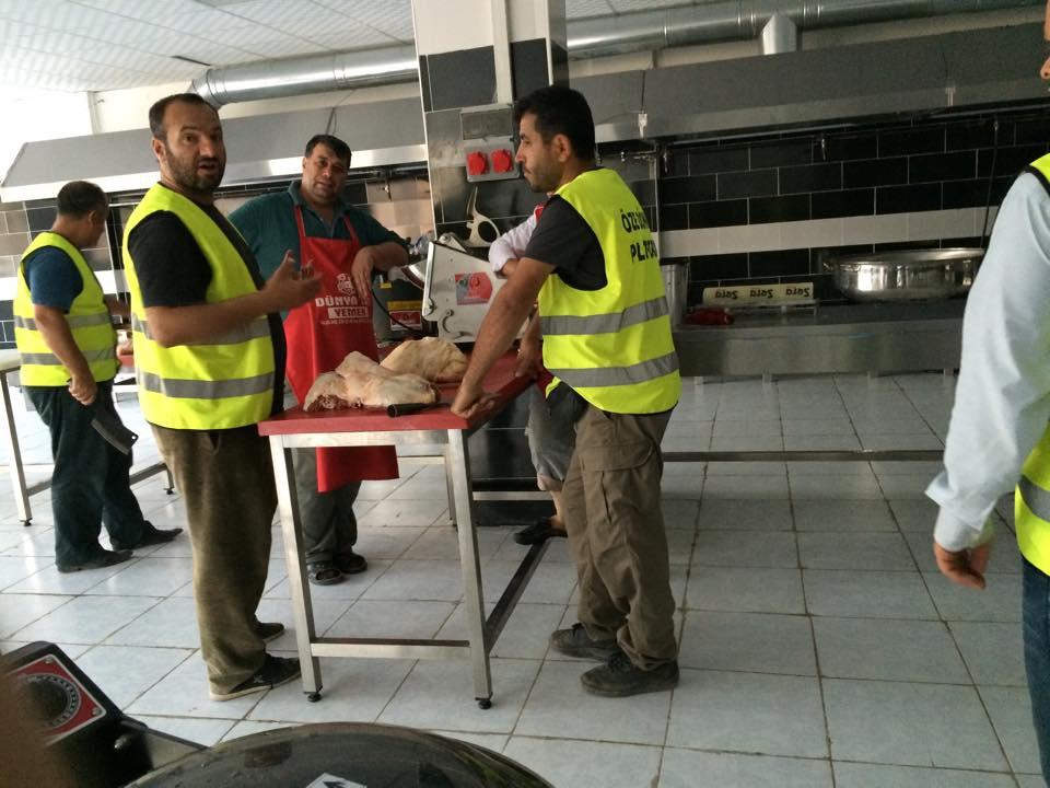 Öze Dönüş Platformu'nun Kobanili Muhacirlere Yardım Çalışması 35