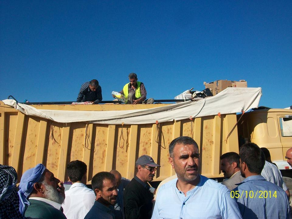 Öze Dönüş Platformu'nun Kobanili Muhacirlere Yardım Çalışması 38