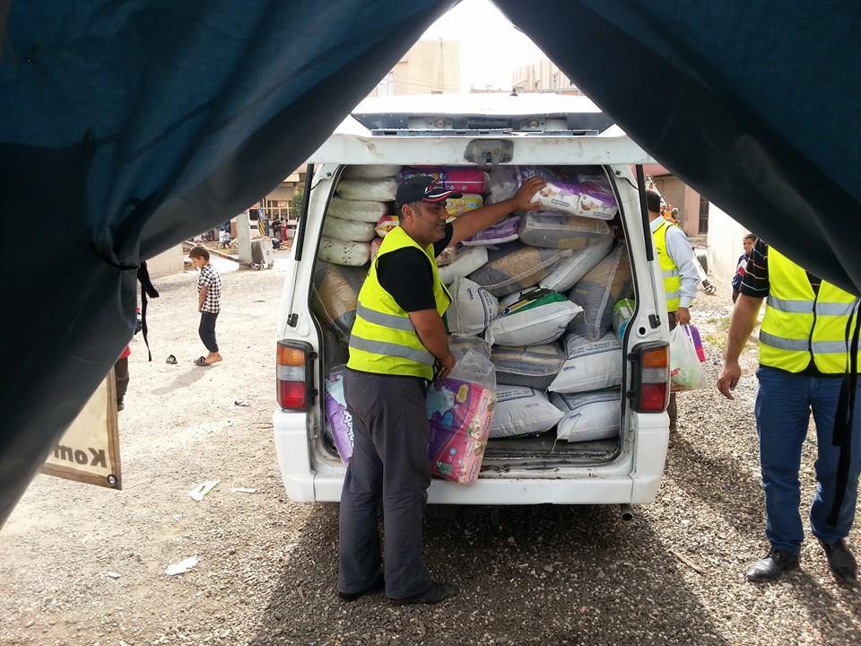 Öze Dönüş Platformu'nun Kobanili Muhacirlere Yardım Çalışması 46