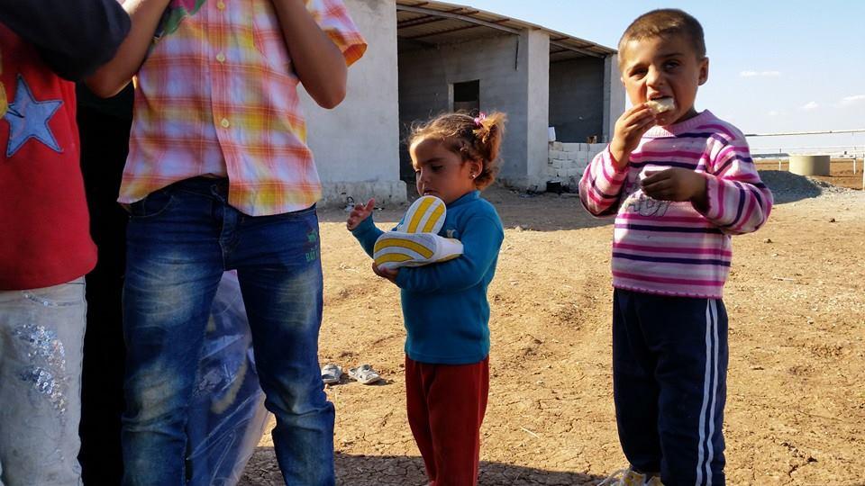 Öze Dönüş Platformu'nun Kobanili Muhacirlere Yardım Çalışması 47