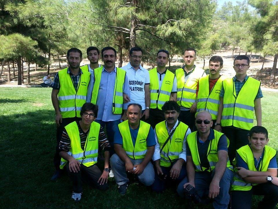 Öze Dönüş Platformu'nun Kobanili Muhacirlere Yardım Çalışması 49