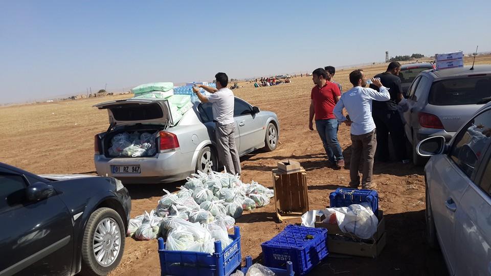 Öze Dönüş Platformu'nun Kobanili Muhacirlere Yardım Çalışması 5