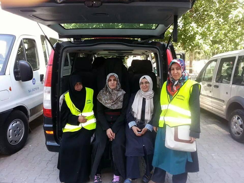 Öze Dönüş Platformu'nun Kobanili Muhacirlere Yardım Çalışması 52