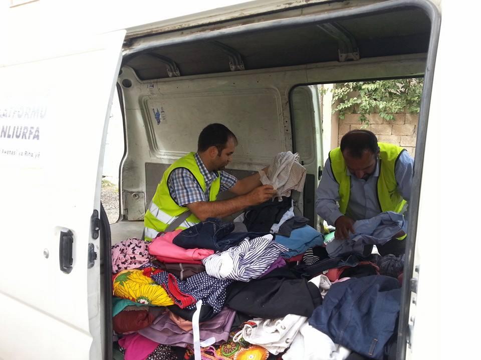 Öze Dönüş Platformu'nun Kobanili Muhacirlere Yardım Çalışması 54