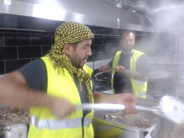 Öze Dönüş Platformu'nun Kobanili Muhacirlere Yardım Çalışması 55