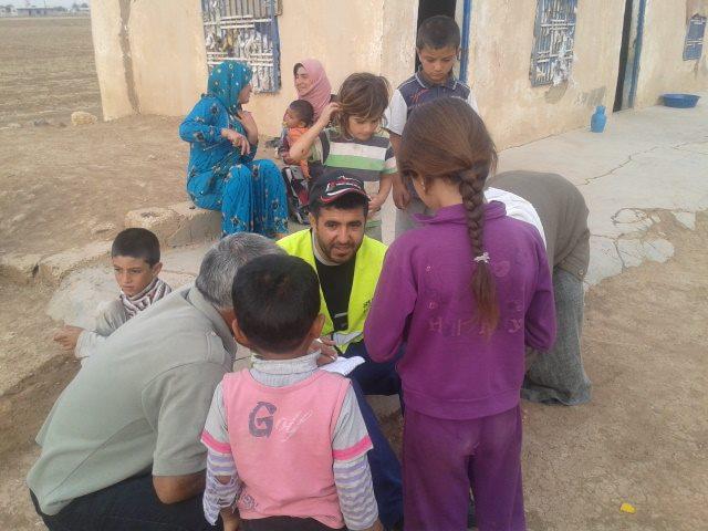 Öze Dönüş Platformu'nun Kobanili Muhacirlere Yardım Çalışması 57