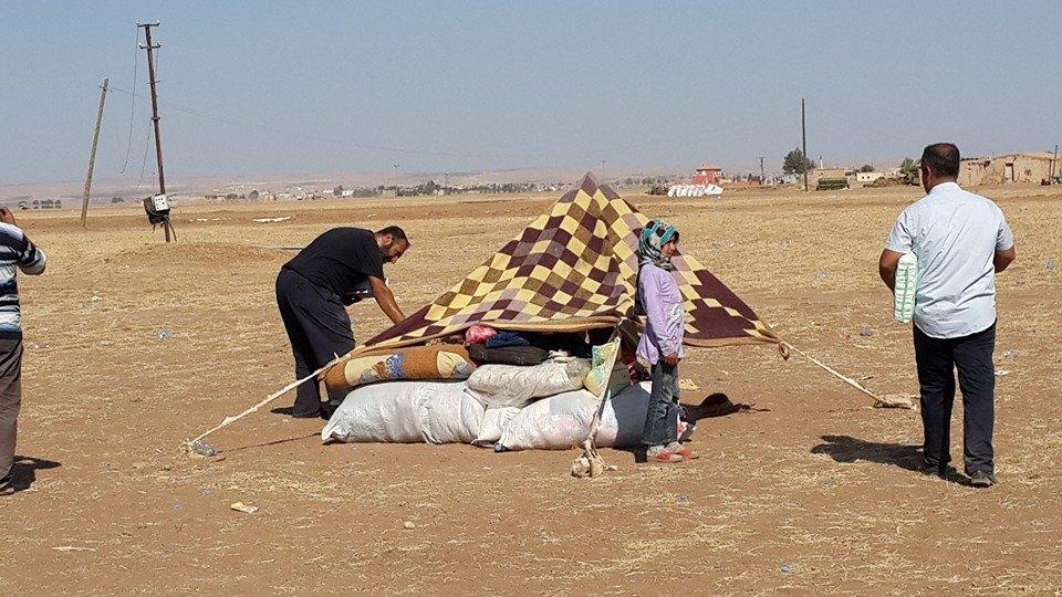 Öze Dönüş Platformu'nun Kobanili Muhacirlere Yardım Çalışması 63