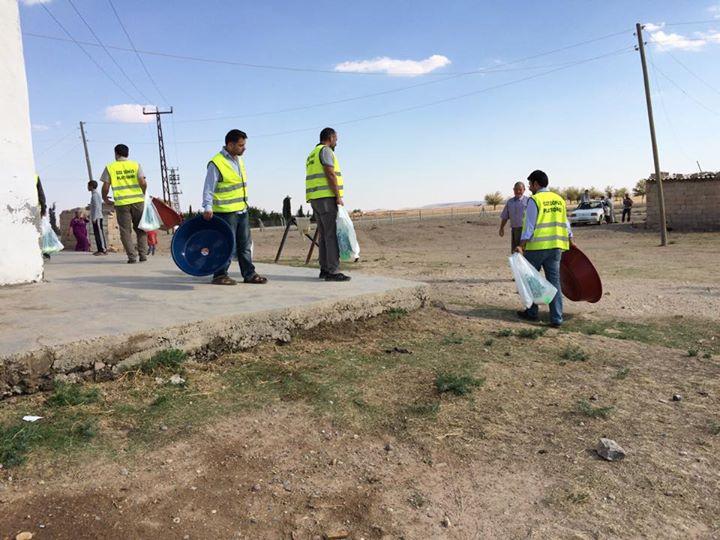 Öze Dönüş Platformu'nun Kobanili Muhacirlere Yardım Çalışması 68