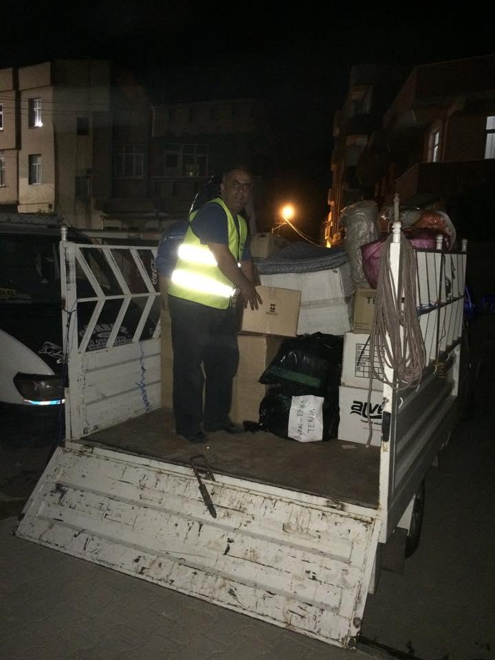 Öze Dönüş Platformu'nun Kobanili Muhacirlere Yardım Çalışması 69