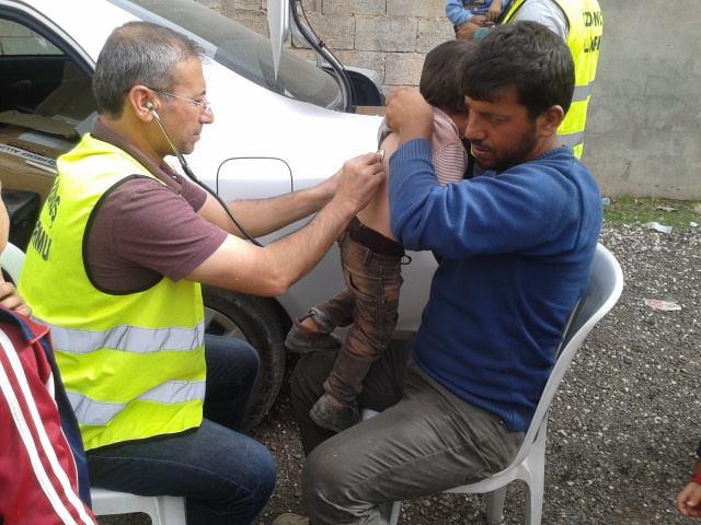 Öze Dönüş Platformu'nun Kobanili Muhacirlere Yardım Çalışması 7