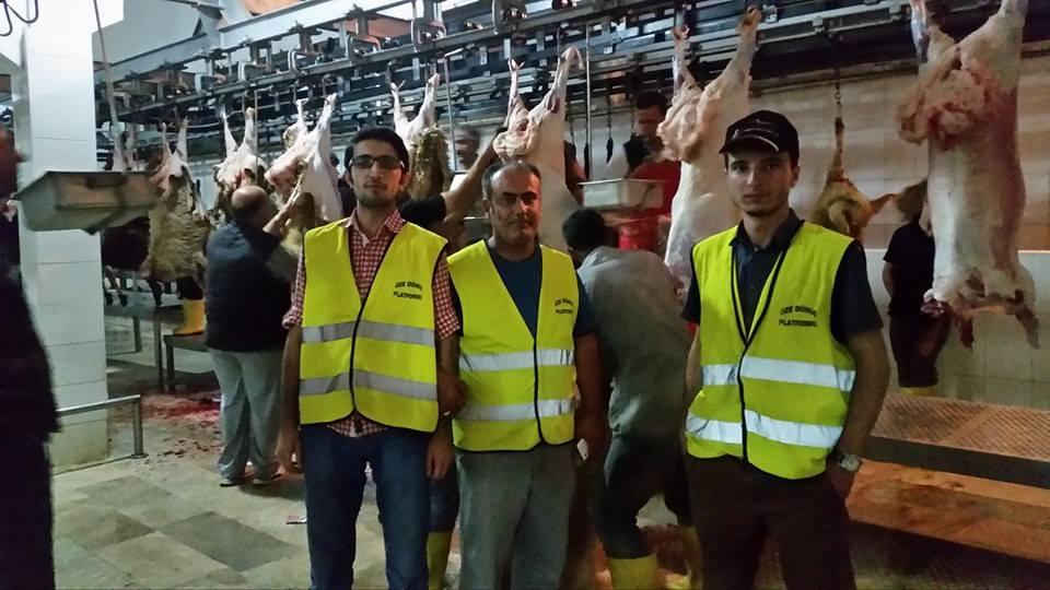 Öze Dönüş Platformu'nun Kobanili Muhacirlere Yardım Çalışması 71